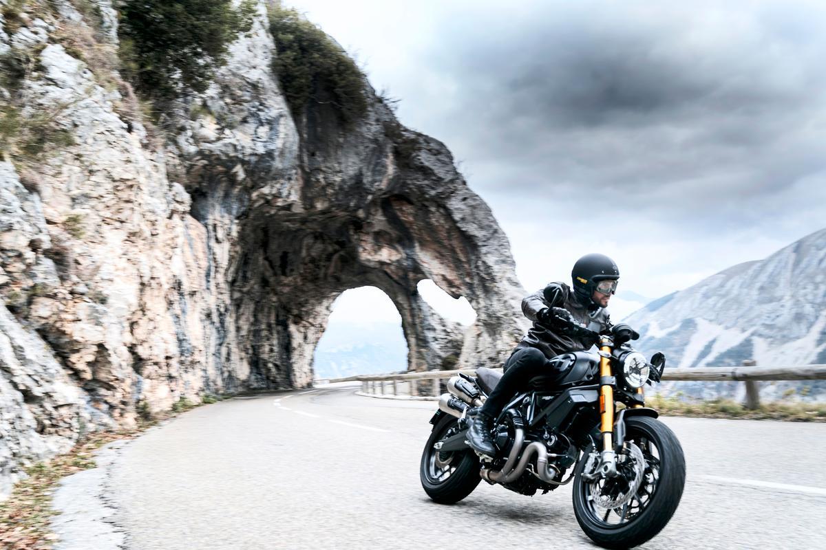 The Ducati Scrambler 1100 Sport Pro