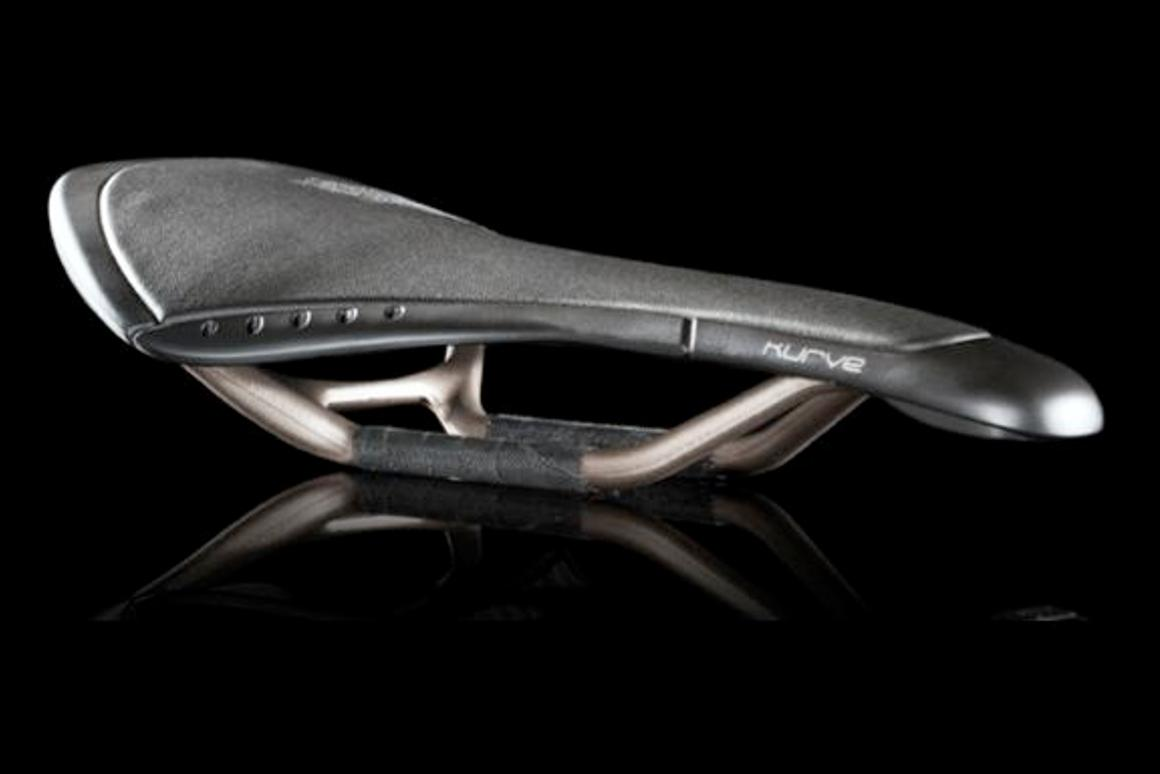 The Fizik Kurve is a high-tech racing bicycle saddle that uses the same principle as the venerable Brooks leather touring saddle