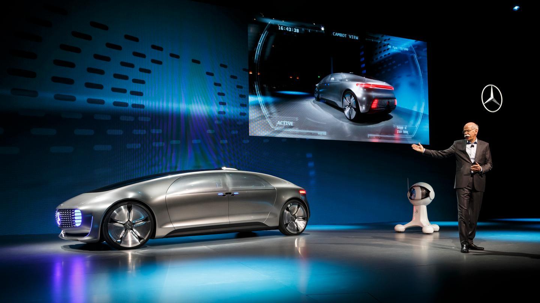 Mercedes reveals the F 015 concept at CES 2015