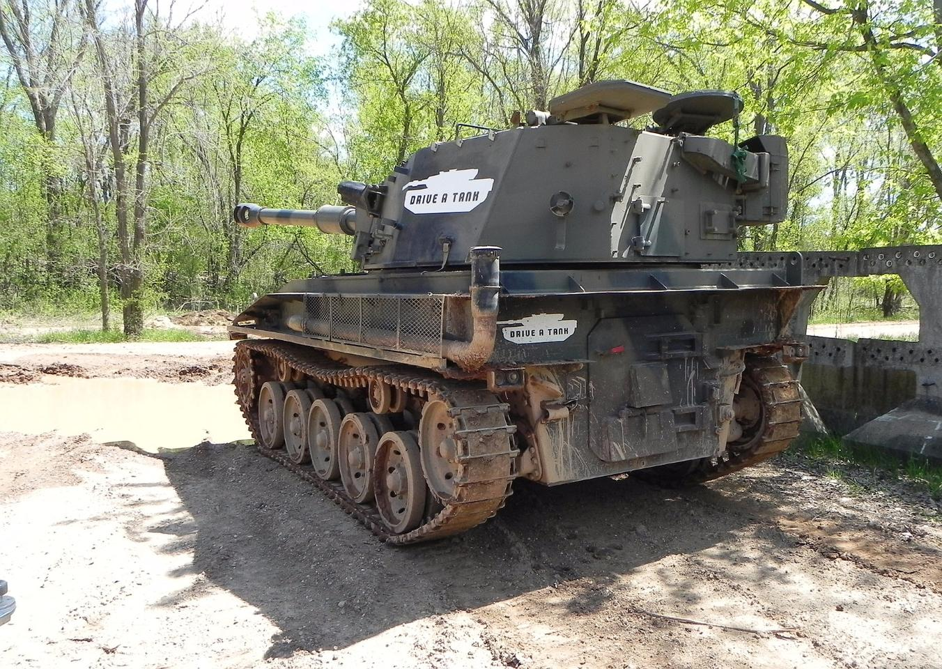 Driving Tanks And Crushing Cars In The Woods Of Minnesota
