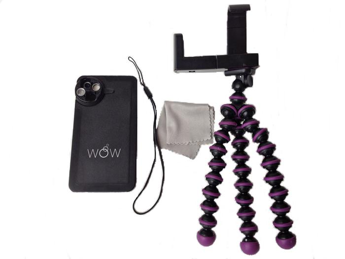 The WoW Lens with the optional kickstand