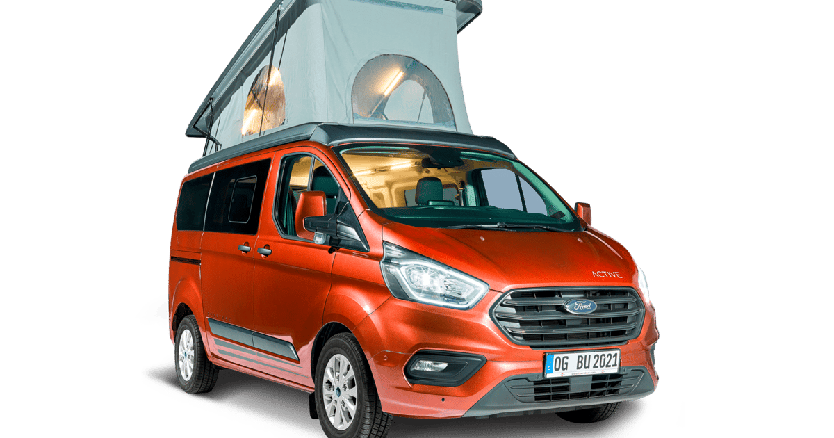 Bürstner makes Ford van a flexible mini-camper multitool