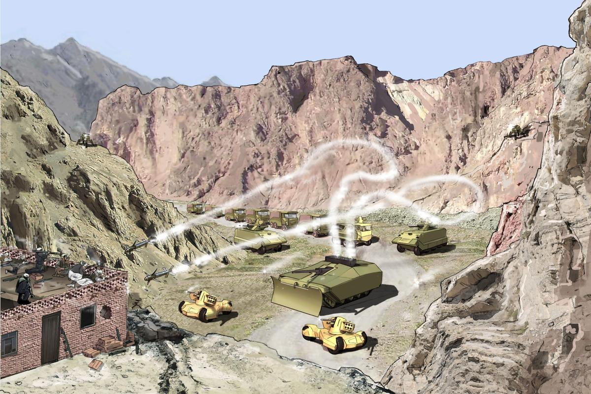 BAE Systems has presented the fruits of its Future Protected Vehicle program (FPV) to the U.K. Ministry of Defence