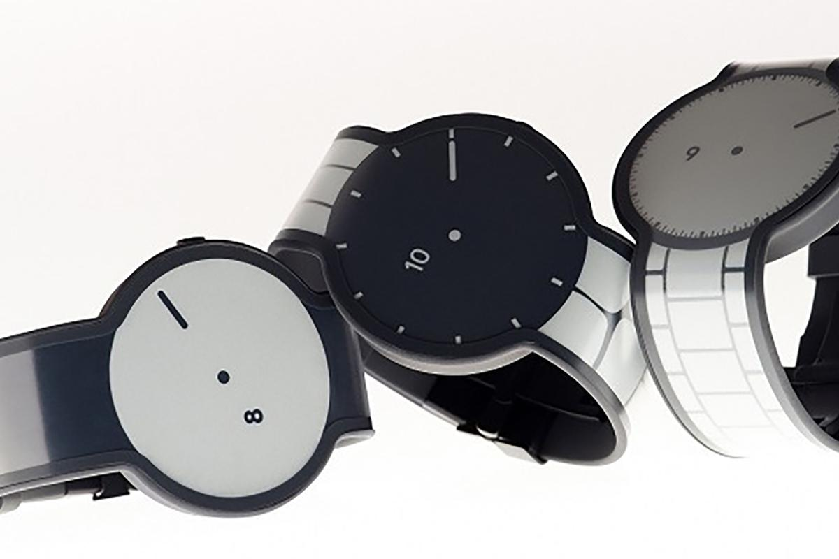 The Wall Street Journal has reported that Sony is behind the innovative e-paper FES Watch (Image: Masayuki Hayashi)