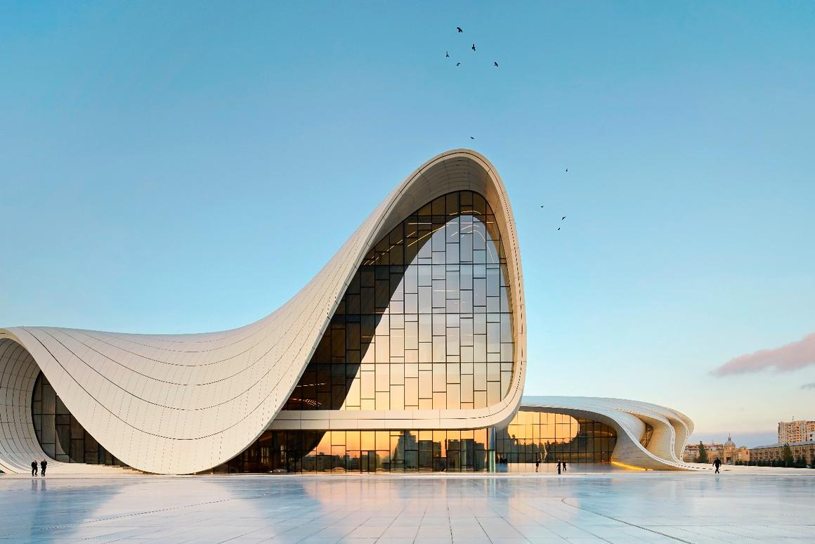 Zaha Hadid's Heydar Aliyev Centre has already been awarded a Design of the Year gong, can it snag the RIBA International Prize too?