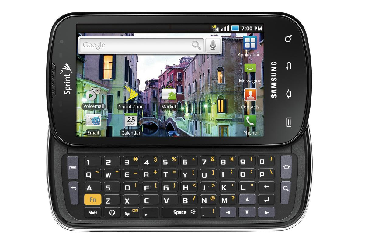 Samsung Epic 4G - slide-out QWERTY keyboard, AMOLED touchscreen, dual-cameras and lots more...