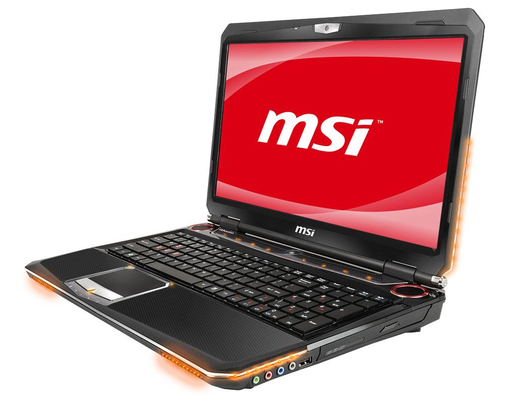MSI's latest gaming laptop, the GX660