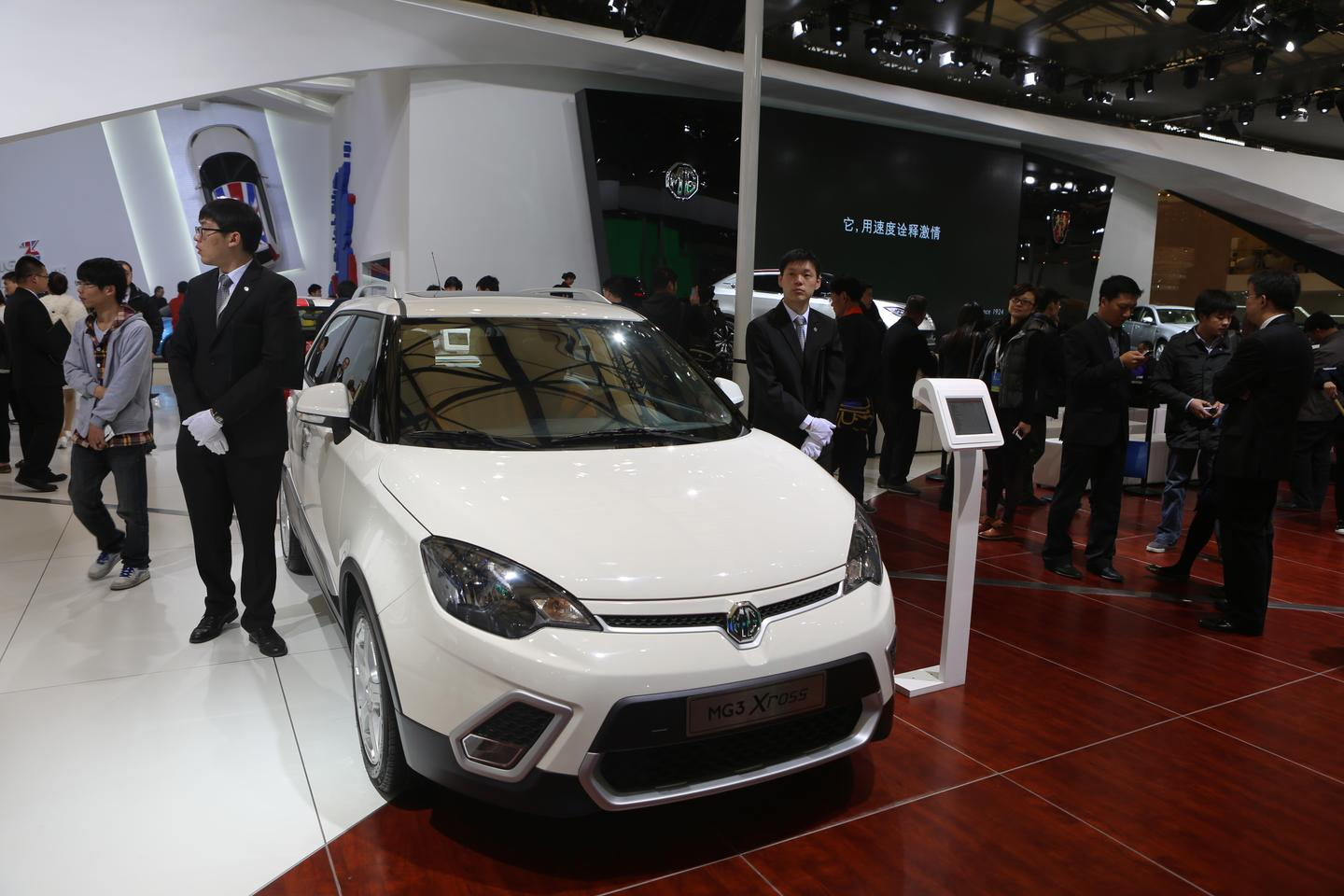 MG3 unveiled at the Shanghai Auto Show is targeted at the young, urban demographic (Photo: Gizmag.com)