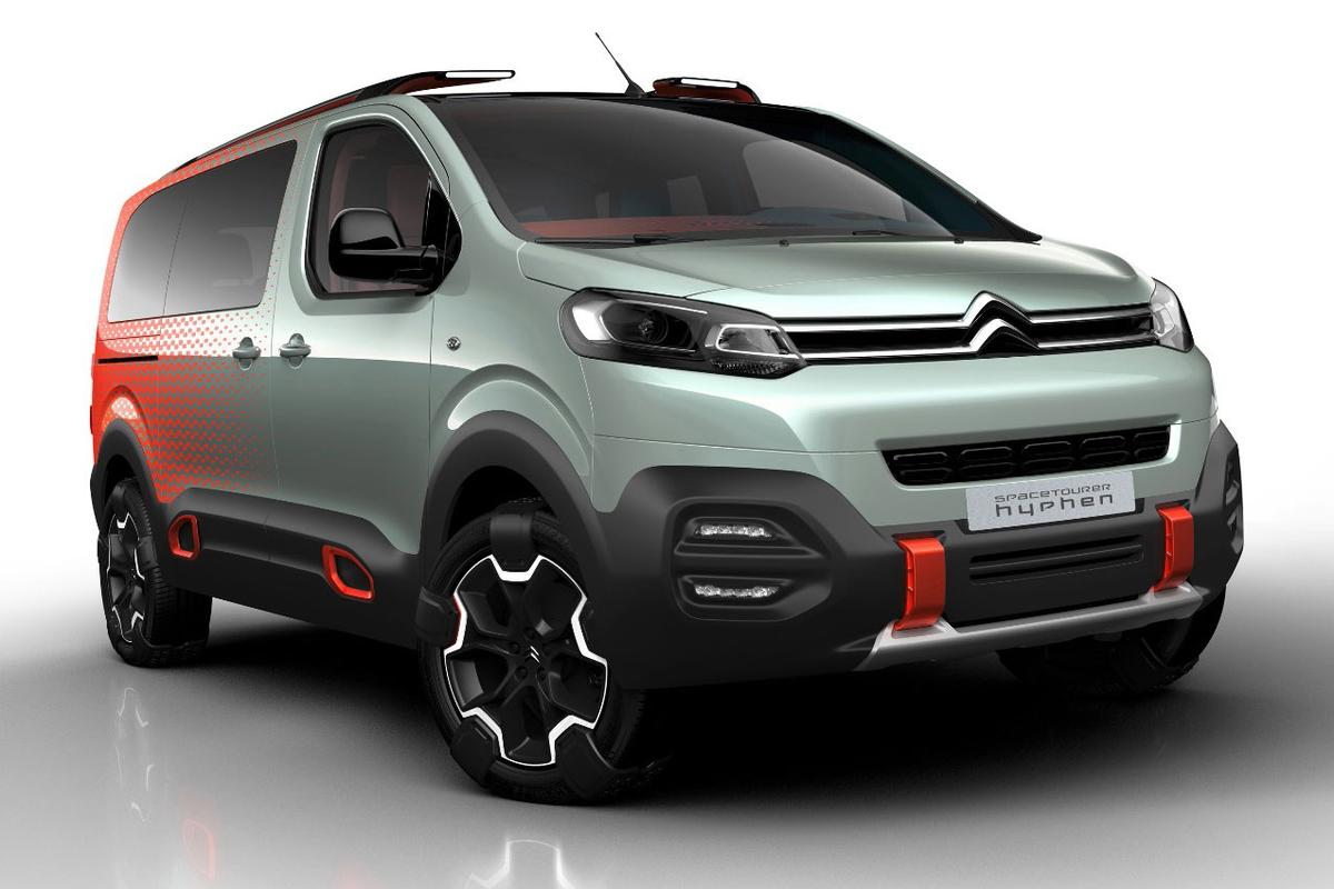 The new SpaceTourer Hyphen combines the MPV with some SUV characteristics