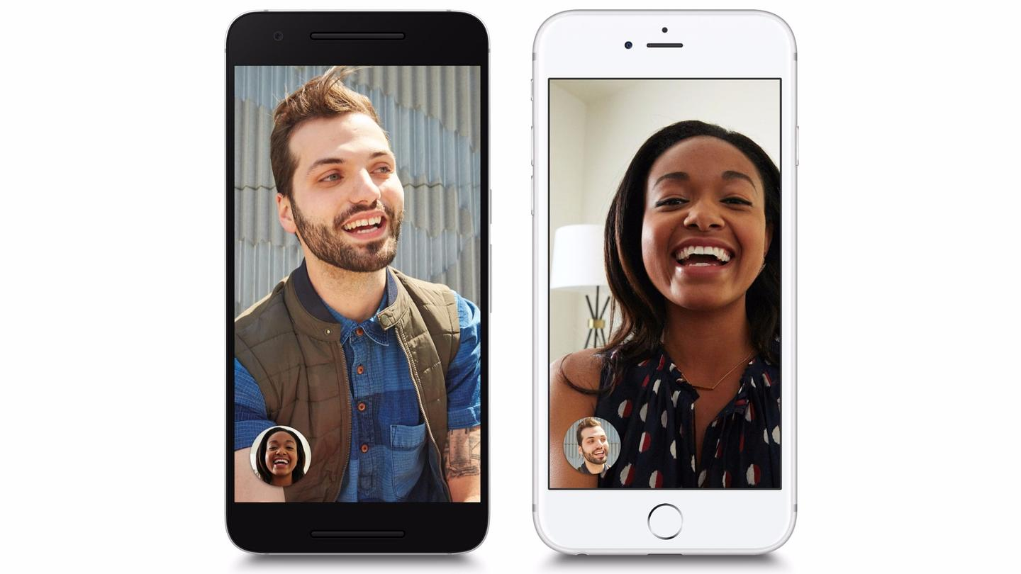 Google Duo works acrossiOSand Android devices