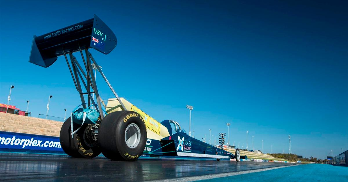 Top Fuel Monsters Put On Notice 5000 Hp Electric Dragster