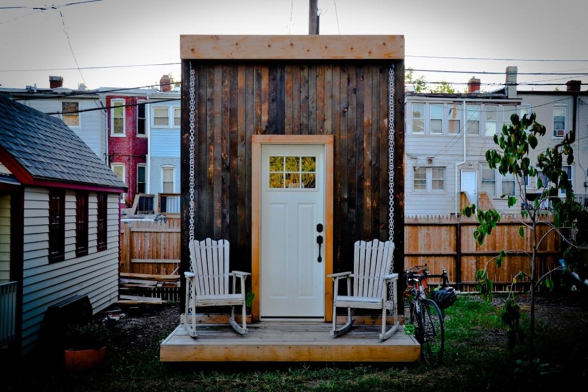 The Matchbox is an off-grid and sustainable tiny house