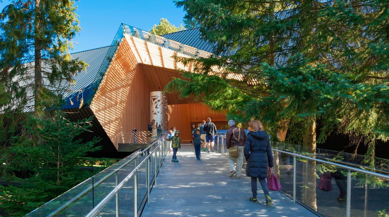 TheAudain Art Museum was designedby Patkau Architects