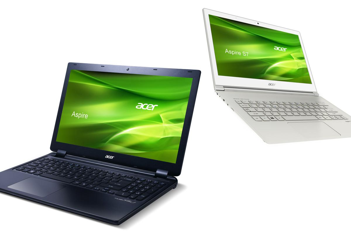 With the release of Windows 8 imminent, Acer has added some new touchscreen Ultrabooks to its Aspire range