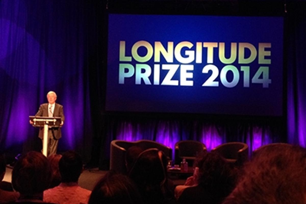 Longitude 2014 commemorates 300 years since the Longitude Act 1714 and seeks to solve one of today's great technological challenges