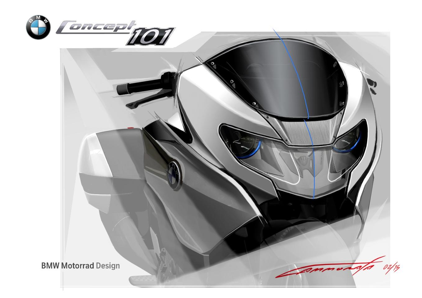 BMW Concept 101 - concept drawings
