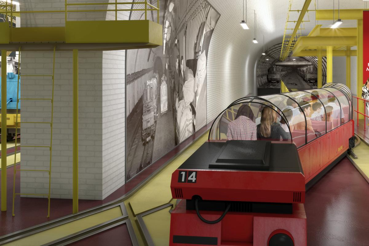 The proposed Mail Rail museum would let passengers retrace the route of the mail of yesteryear (Source: The British Postal Museum and Archive)