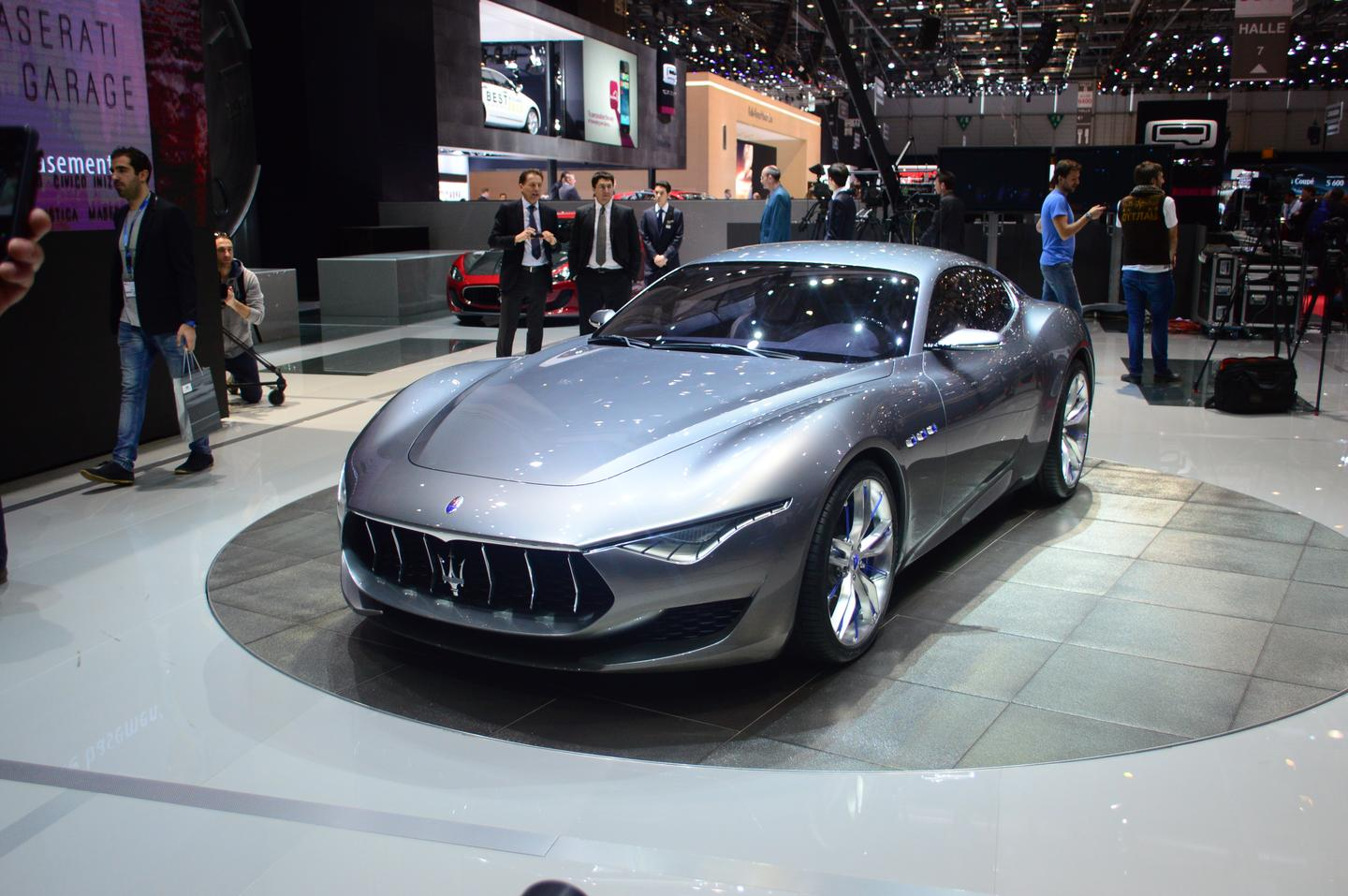 According to Maserati, the design influence for the Alfieri concept was the legendary A6 GCS-53 designed in 1954 by Pininfarina (Photo: CC Weiss/Gizmag)