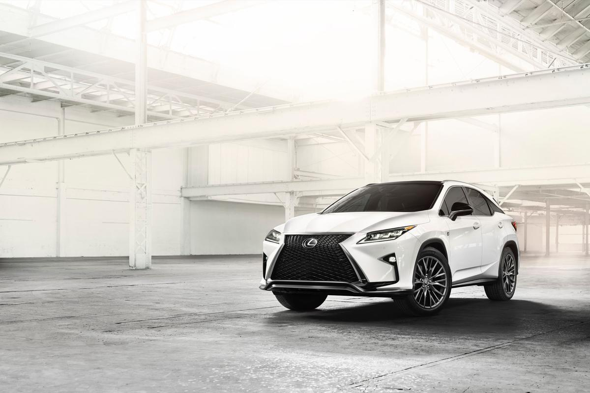 The RX SUV is the latest Lexus to be given a working over