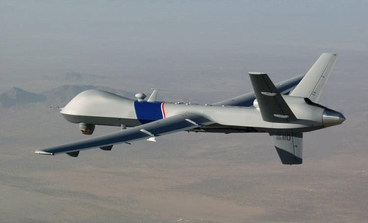 The Predator B/MQ-9 Reaper Extended Range (ER) Long Wing has a flight endurance of over 40 hours