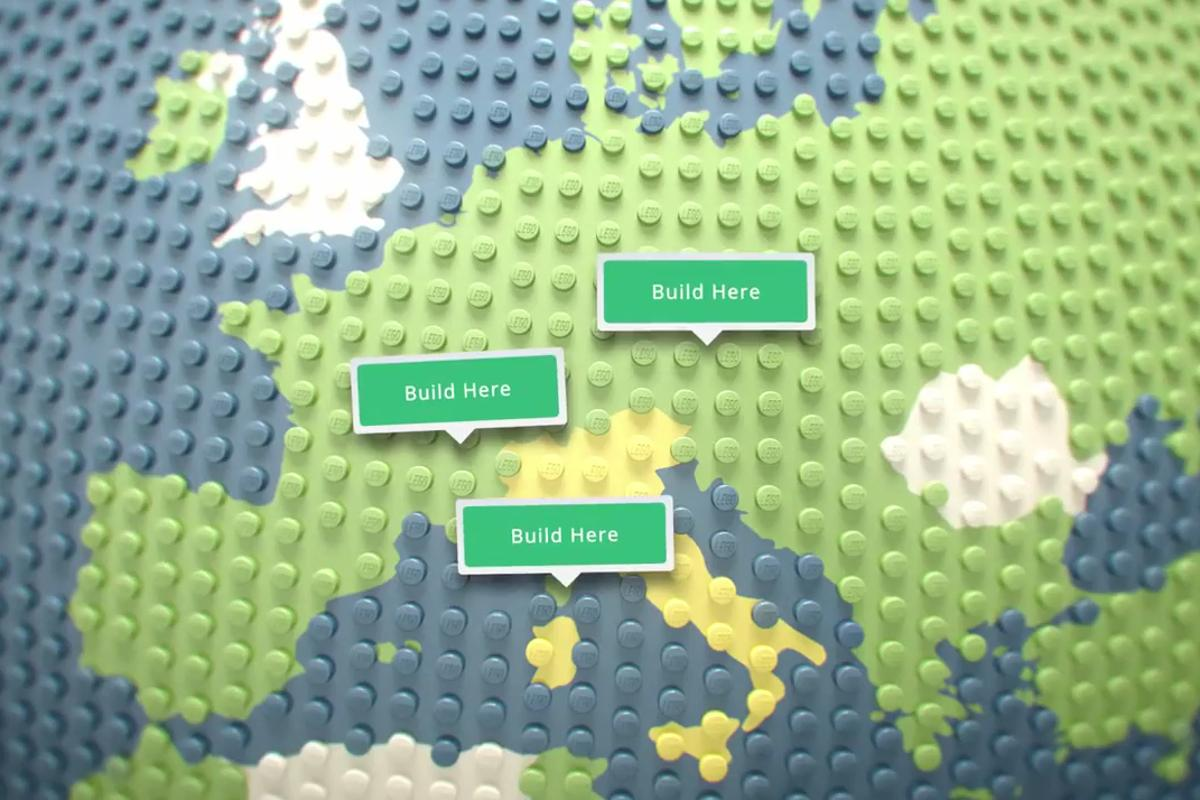 Build with Chrome brings Lego to Google's maps and asks what would you build, and where