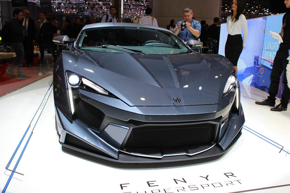 TheFenyr Supersport is powered by an 800-hp twin-turboflat-six engine developed with help from RUF