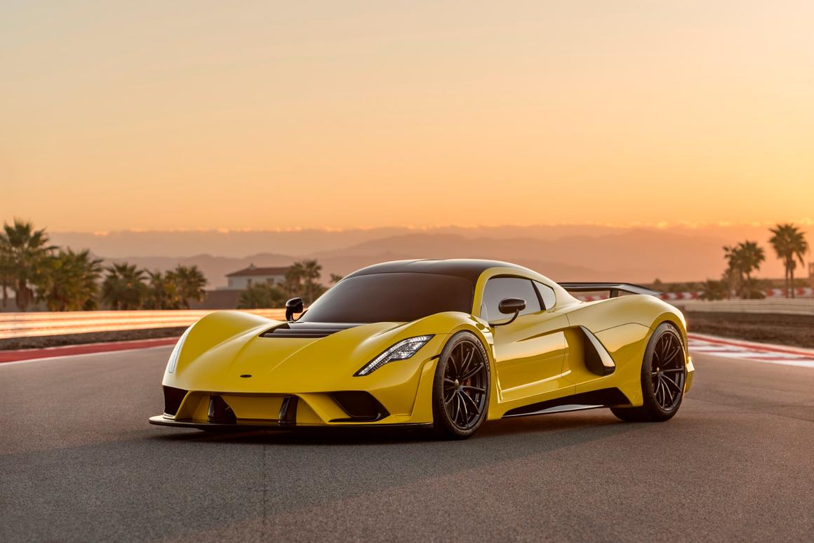 Hennessey says the Venom F5 will go from 0 to 300 km/h (186 mph) in less than 10 seconds