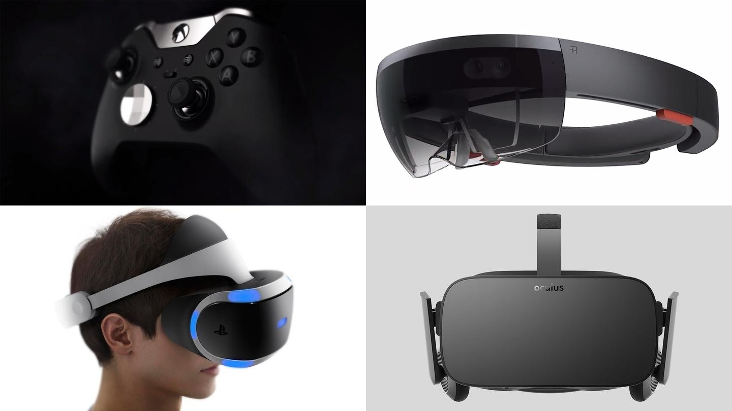 From AR to VR, hardware makers are looking for ways to augment our gaming experiences