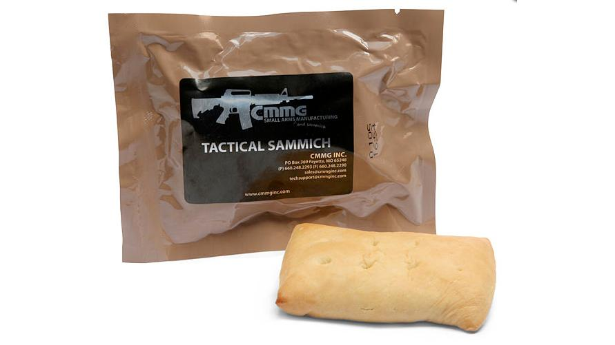 The Tactical Sammich has a two-year shelf life
