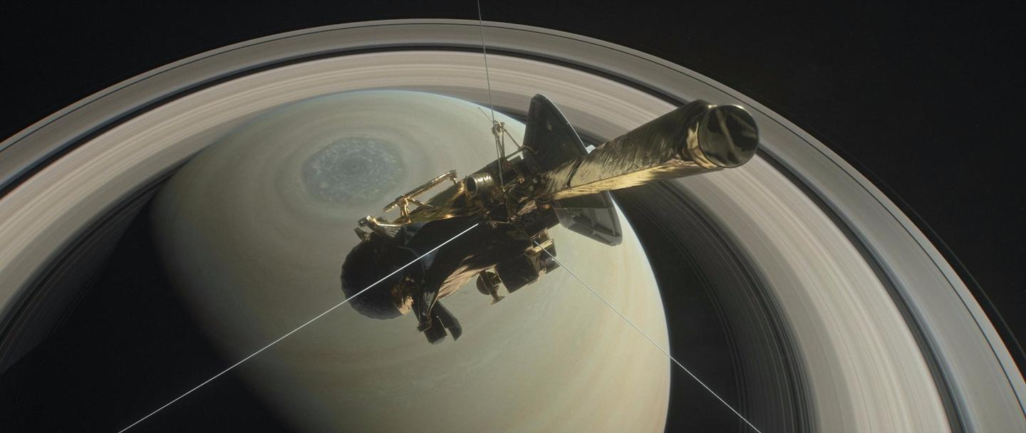 Due to Cassini's distance from Earth, it takes a full 83 minutes for the probe's radio signal to reach us, meaning that we will not know of the spacecraft's demise until after it's actually happened