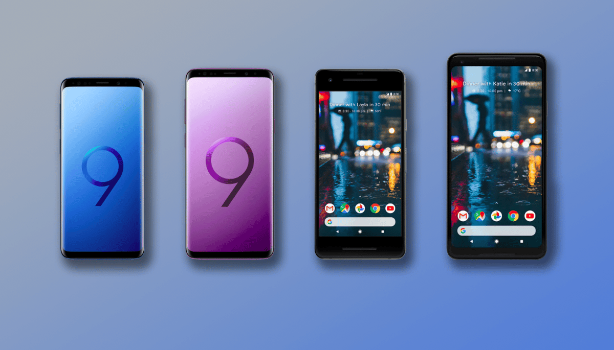 New Atlas compares the specs and features of the Samsung Galaxy S9 and S9+ to the Google Pixel 2 and 2 XL