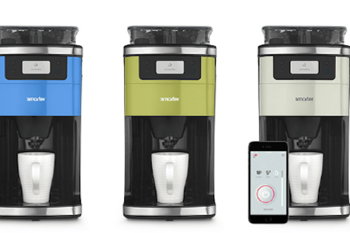 The Smarter coffee machine lets you brew your perfect cup of coffee from your smartphone or tablet