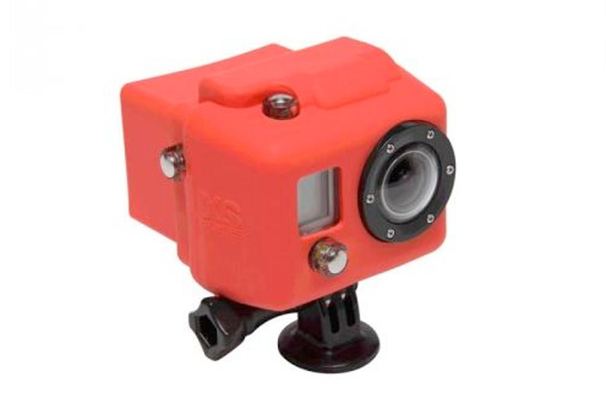 XSories has released a silicone cover and an underwater lens (not pictured) for the GoPro HERO HD actioncam
