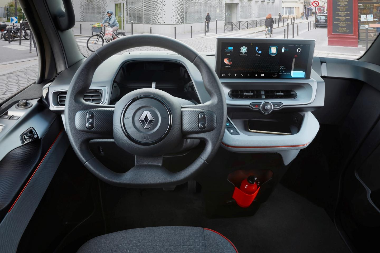 """The""""highly visible"""" dash is given a central position in the EZ-Flex"""
