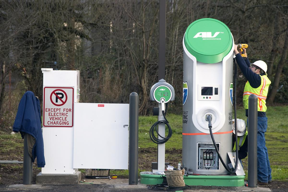 A2020 vision for a national fast charging network is tobe developed