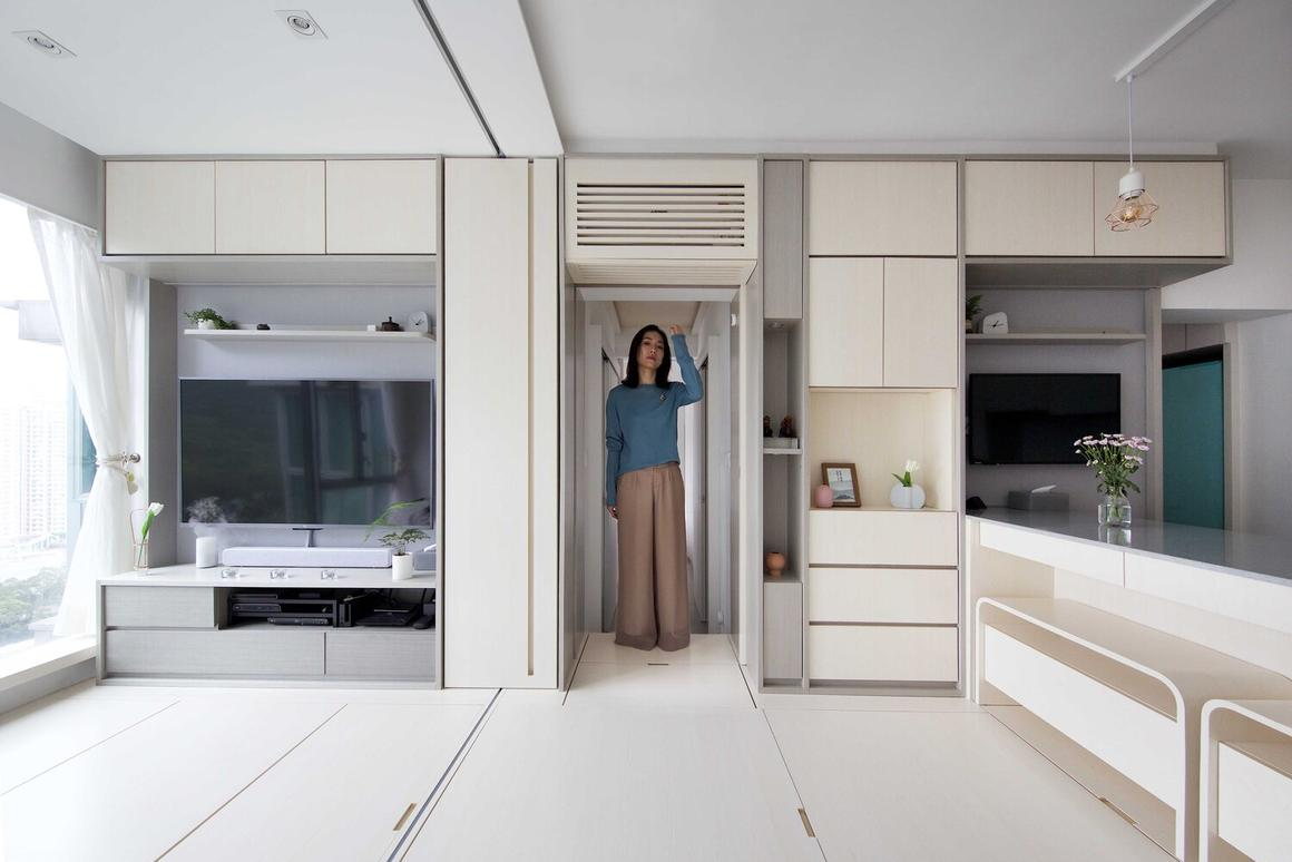 Smart Zendo apartment draws on the traditional Chinese philosophies of Zen and Feng Shui
