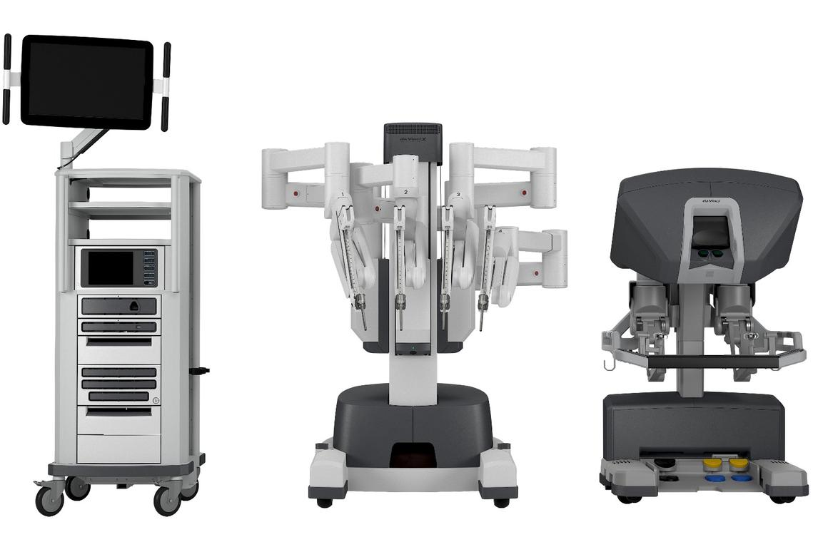 The new da Vinci X surgical robot system is designed to be more affordable, but still has the dextrous arms and precision instruments of the flagship model