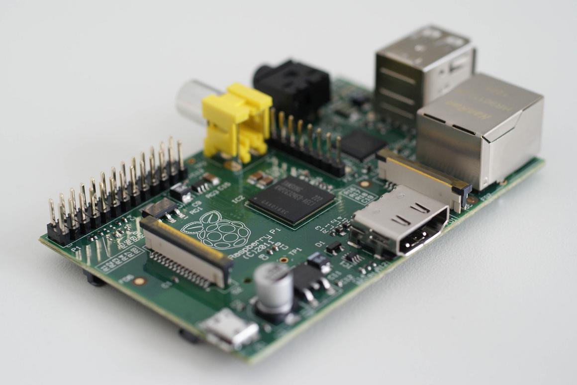 The Model B Raspberry Pi has undergone a significant upgrade (Photo: Gijsbert Peijs)
