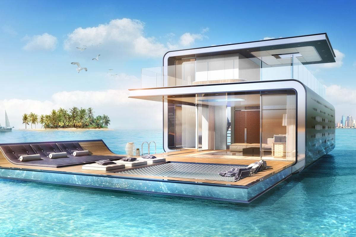 The Signature Edition Floating Seahorse covers 4,004 sq ft (372 sq m)