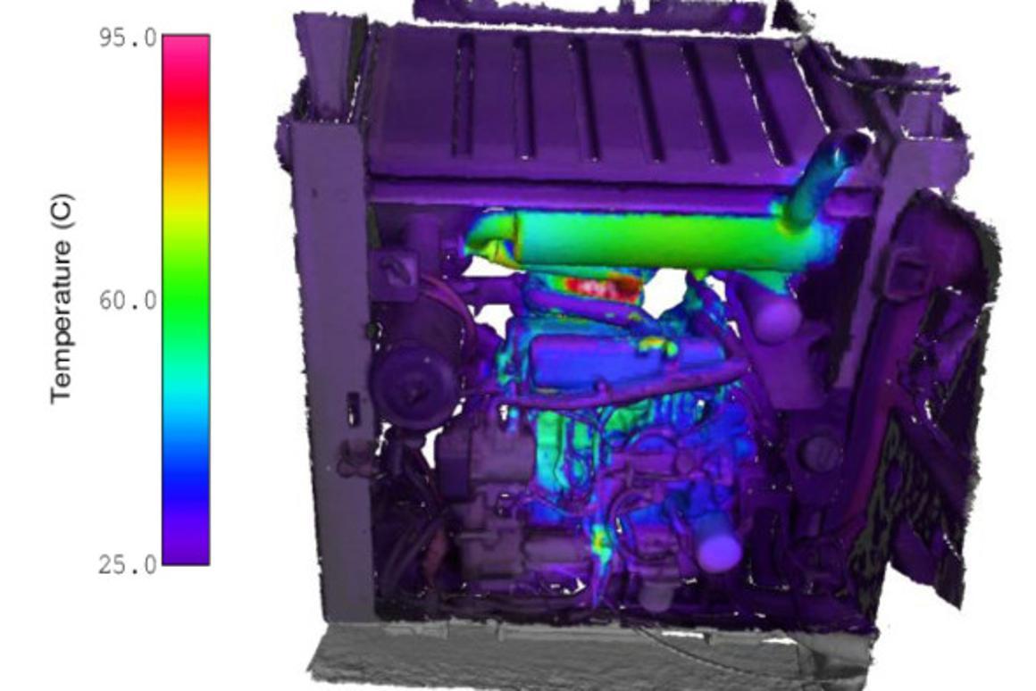 The CSIRO's HeatWave is a handheld 3D thermal imaging prototype
