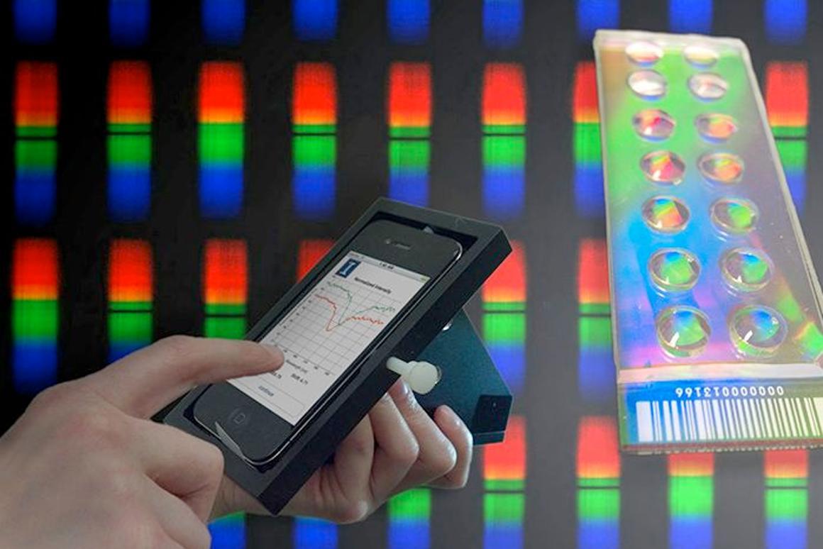 The University of Illinois' iPhone-based biosensor