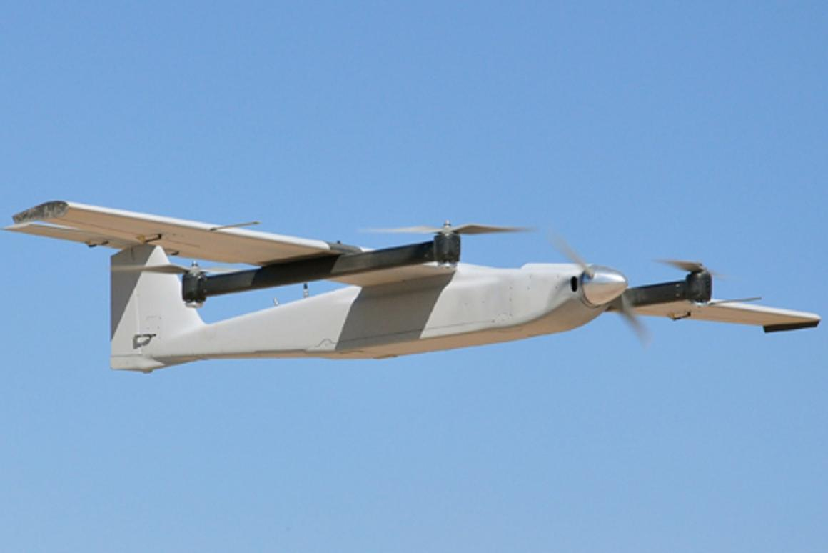 The Arcturus Jump system is designed to give UAVs VTOL capability without the weight penalty