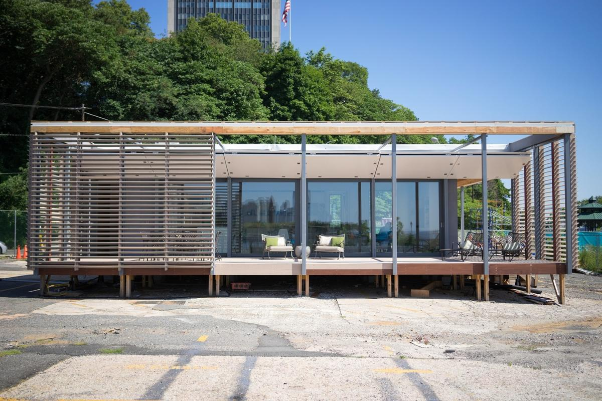 The Sure House was designed in response to Hurricane Sandy