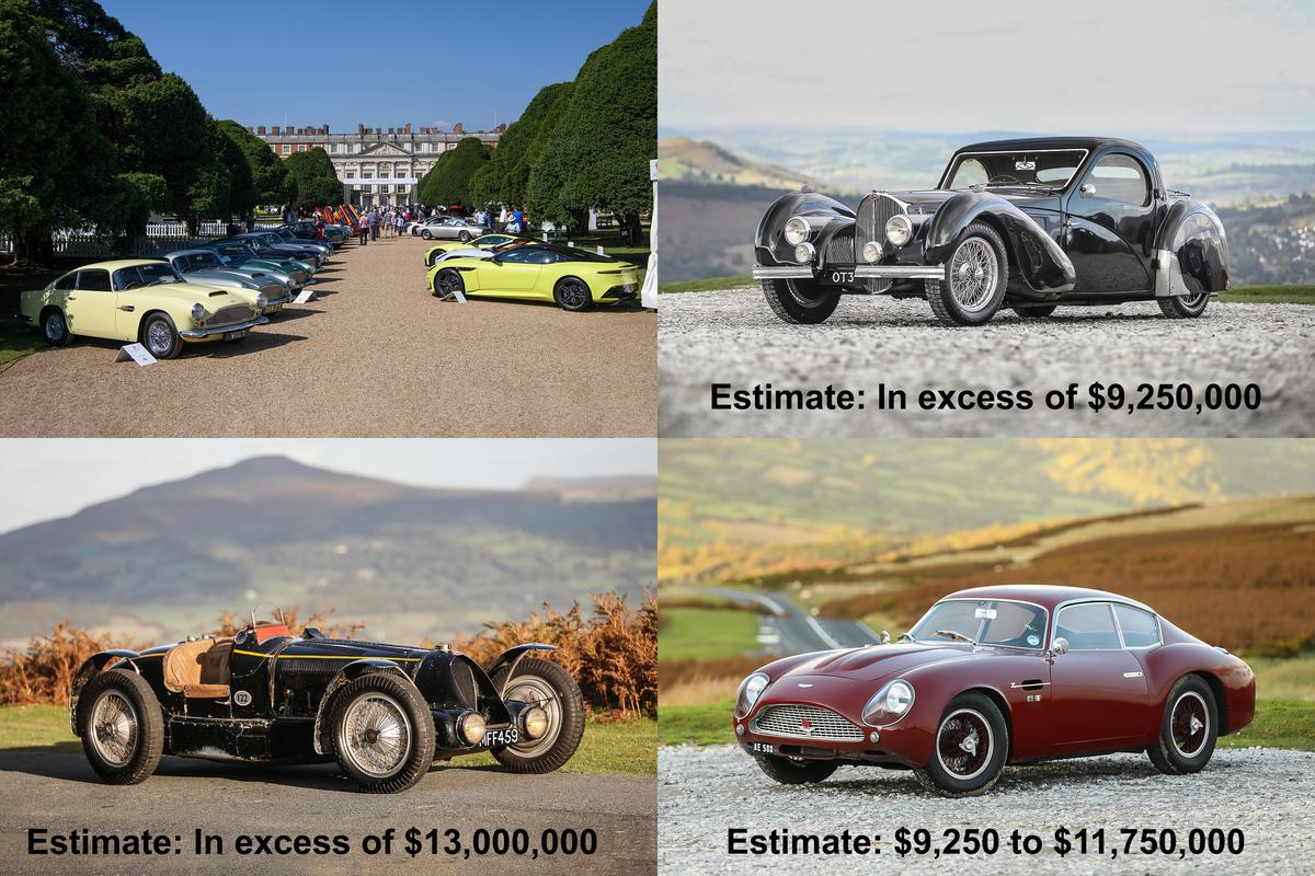 Potentially the three most valuable cars of the year