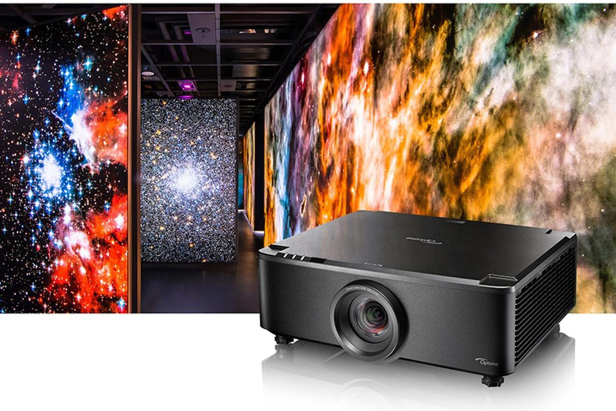 The ZU720TST laser projector puts out 7,000 lumens at up to 1,920 x 1,200 resolution