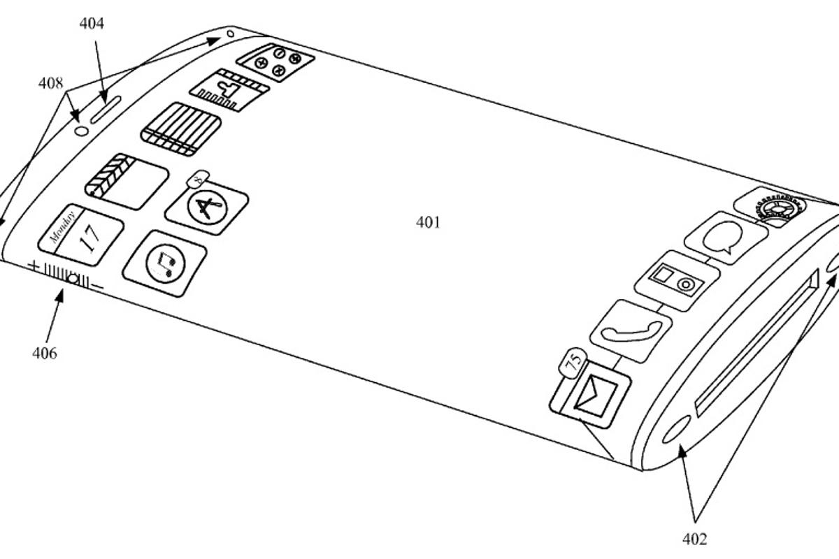 The patent reveals Apple's vision of the iPhone's future