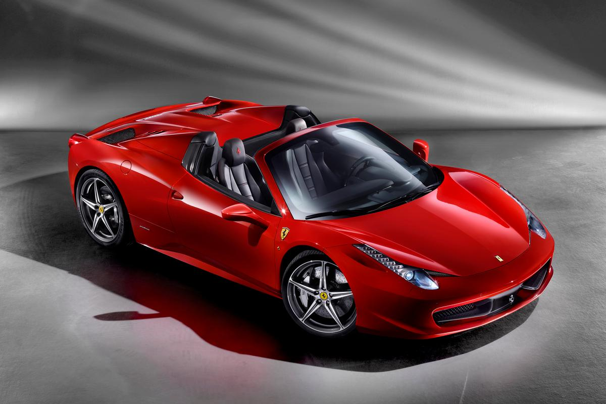 Ferrari's new 458 Spider