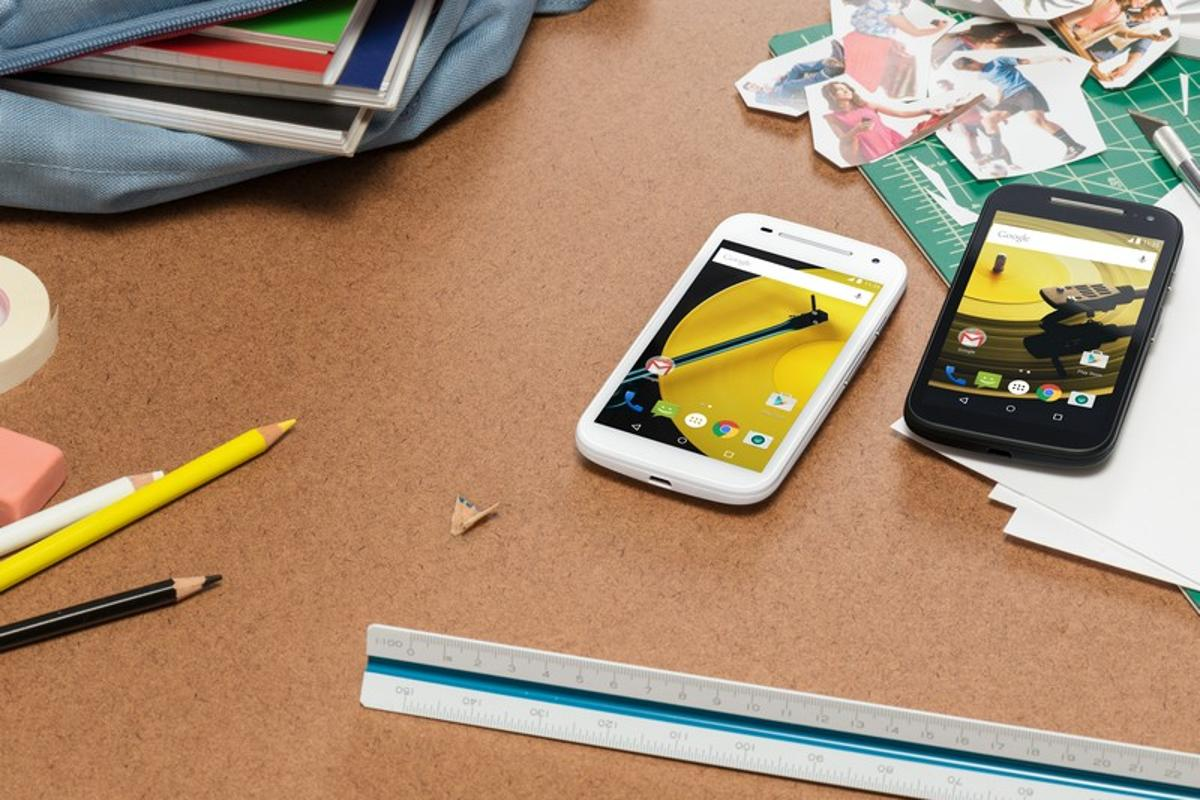 The Moto E with 4G sells for $150