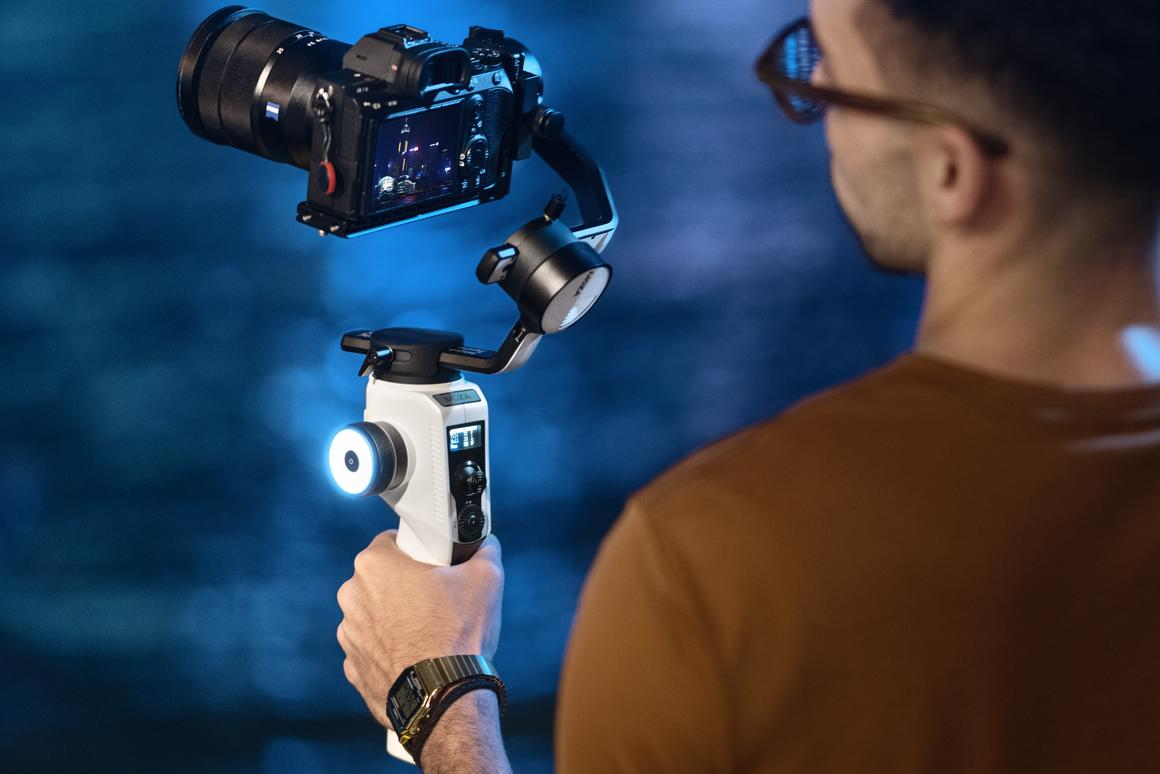 The new AirCross 2 is a stronger, lighter mirrorless camera gimbal