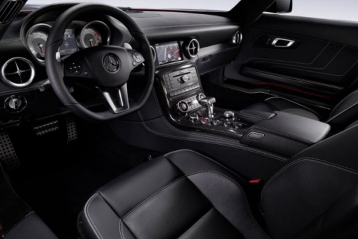 Mercedes-Benz Gullwing dash